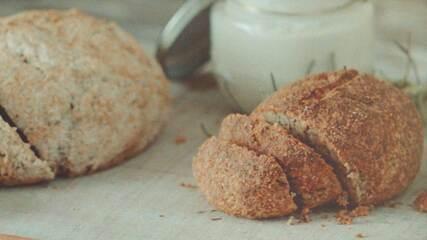Receita de pão de amêndoas