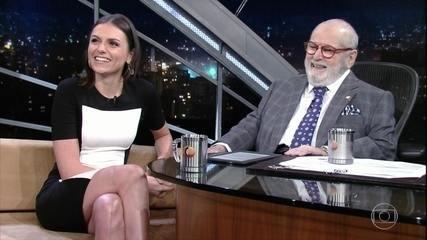 Jô Soares entrevista Monica Iozzi