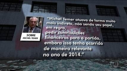 Delação de Cláudio Melo Filho tem capítulo dedicado ao presidente Temer