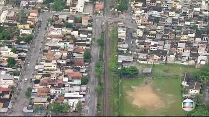 Tiroteio deixa linha de trem da Supervia inoperante nesta segunda (12)