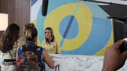 Fernanda Pontes grava participação especial em 'Malhação'