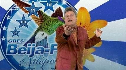 Milton Cunha mostra o enredo e samba da Beija-Flor