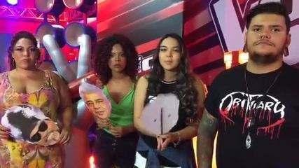 Live - Participantes The Voice Brasil