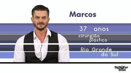 Conheça Marcos, o novo participante do BBB 17