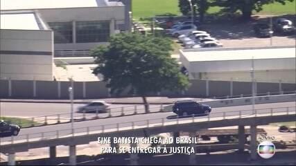 Eike Batista é levado para o IML, no Rio
