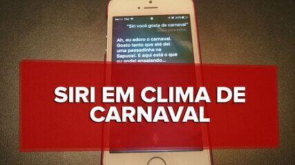 Siri entra em clima de carnaval no iPhone