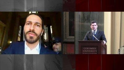 Juiz Sérgio Moro participa de evento sobre a Lava-Jato na Universidade de Columbia (EUA)
