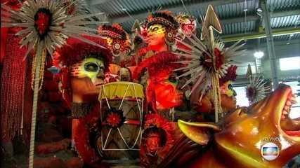 A Beija-Flor deve levar uma grande batalha entre tribos indígenas do Ceará para o Sambódromo