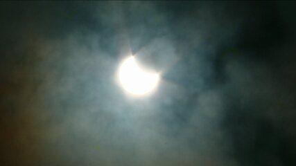 Primeiro eclipse solar de 2017 pode ser visto de forma parcial em algumas regiões do país
