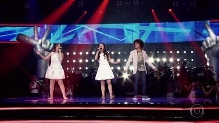 Giulia Soncini, Laura D'ávila e Luiz Ricardo cantam 'One Last Time'
