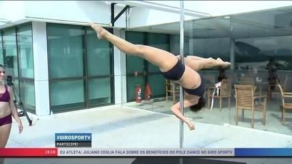 Eu Atleta: Juliano Ceglia fala sobre os benefícios do pole dance