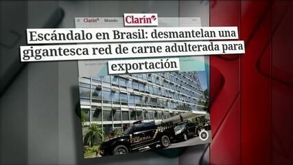 Operação da PF de combate à venda de carne adulterada é destaque na imprensa internacional