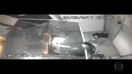 Ato de vandalismo fecha Estação Cesarão III do BRT