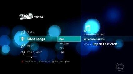Silvio Songs abre playlist