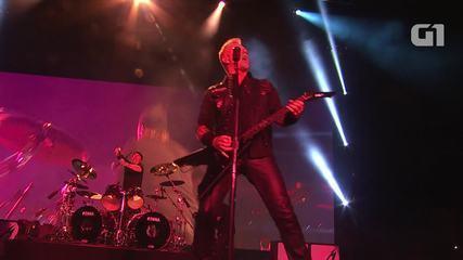 "Metallica toca ""Atlas Rise!"" no Lollapalooza 2017"