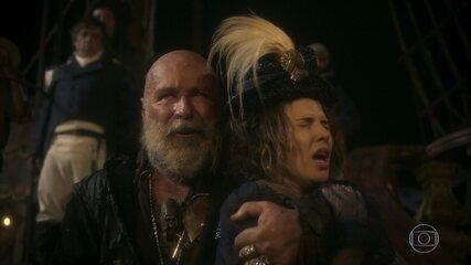 Piratas apavoram a comitiva de Leopoldina