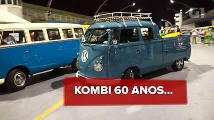 Aposentada, Kombi completa 60 anos da primeira unidade feita no Brasil e continua na moda
