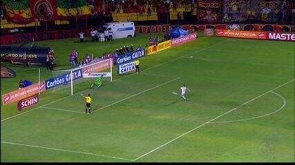 Campinense perde nos pênaltis para o Sport e está eliminado da Copa do Nordeste