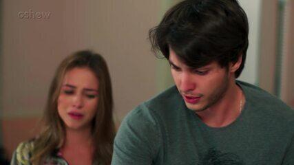 Teaser Malhação 04/04: Lucas encontra Martinha no hospital!