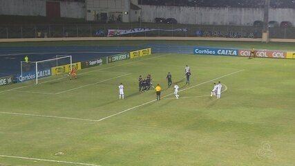 Santos-AP vence o Remo por 3 a 0 e vai para as semi da Copa Verde