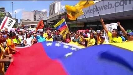 Internacional: a fome no mundo e a crise política na Venezuela
