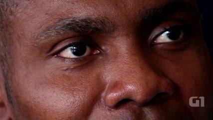 Confira a entrevista com o preso africano Emmanuel Wata Bekombo