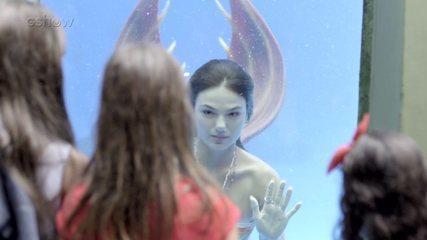 Resumo de 'A Força do Querer': Zeca vê Rita em aquário
