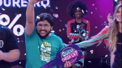 Moisés Loureiro é o campeão do 'Quem Chega Lá?'