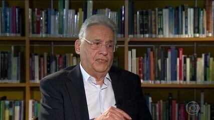 FHC é mais um ex-presidente citado nas delações da Odebrecht