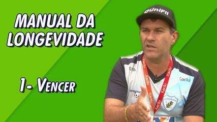 """Manual da Longevidade"" do técnico Claudio Tencati, do Londrina: Vencer"