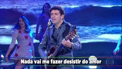 Jorge Vercillo canta 'Que Nem Maré'