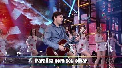 Plateia canta junto com Jorge Vercillo a música 'Monalisa'