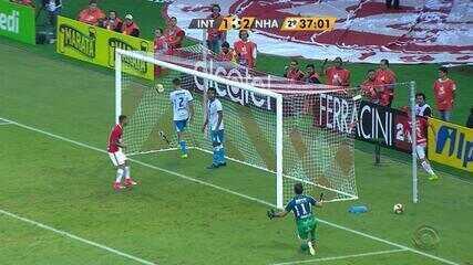 Nico López marcou golaço no 2 a 2 no Beira-Rio