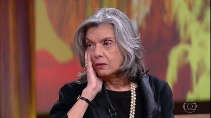 Cármen Lúcia fala sobre corrupção