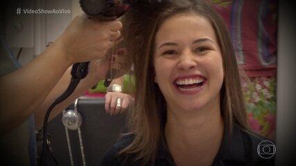 Atrizes de 'Malhação' dão dicas para cuidar dos cabelos