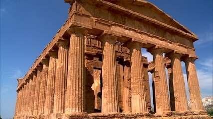 Ruínas de cidade que abrigou 200 mil pessoas são mistério em Agrigento