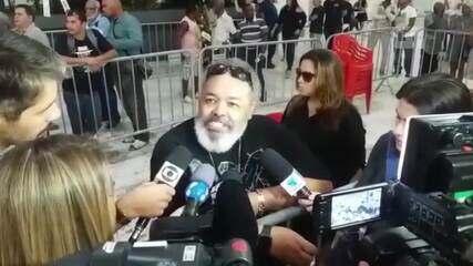 Jorge Aragão lamenta perda de Almir Guineto