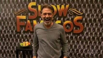 Nelson Freitas mostra os bastidores do Show dos Famosos