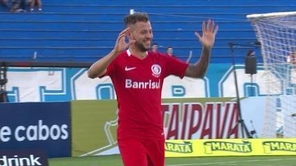 Melhores momentos de Londrina 0 x 3 Internacional, pela 1ª rodada da Série B 2017