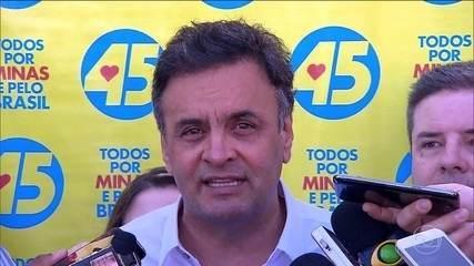Aécio Neves vai ficar afastado das funções de senador por tempo indeterminado