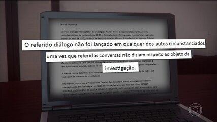 Conversa entre o jornalista Reinaldo Azevedo e Andréa Neves é publicada em site de notícia