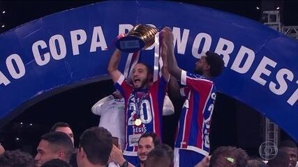 Bahia vence Sport e conquista a Copa do Nordeste depois de 15 anos