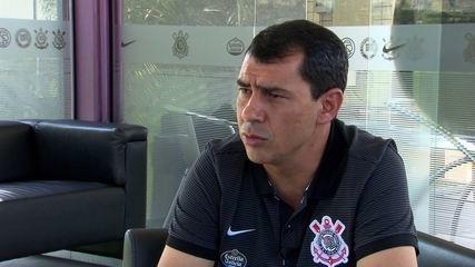 Fábio Carille responde sobre o atacante Bruno Paulo
