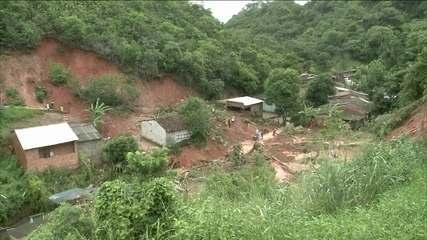 Deslizamentos deixam quatro mortos na Grande Maceió