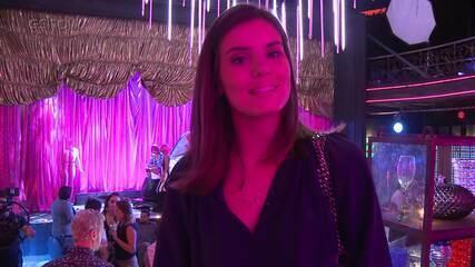 Luíza flagra Douglas em show de drag queens