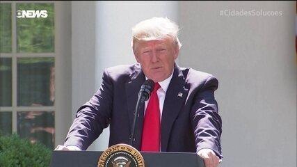 A decisão de Trump de retirar os EUA do Acordo Climático de Paris