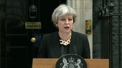 Theresa May faz primeiro pronunciamento depois do atentado em Londres