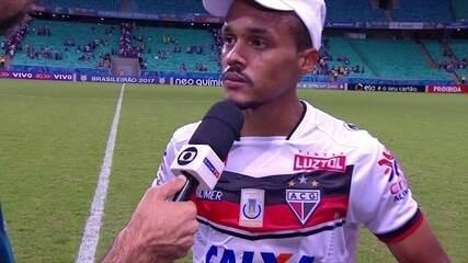 """""""'Apontar erros é fácil"""", lamenta Bruno Pacheco após derrota do Atlético-GO"""