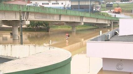 28 mil pessoas já foram afetadas pela chuva em 90 cidades