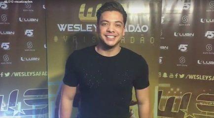 Cantor Wesley Safadão diz que Ariquemes, em Rondônia,  fica em Roraima e gera comentários na web
